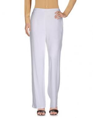 Повседневные брюки BLU BIANCO. Цвет: белый