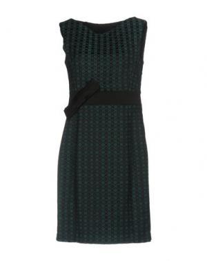 Короткое платье SALLY NEW YORK. Цвет: цвет морской волны