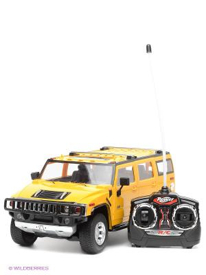 Машина р/у Hummer H2 SUV 1:16 с аккумулятором KAISER. Цвет: желтый, черный