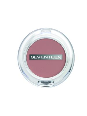 Румяна компактные матовые шелковистые Natural Matte Silky Blusher № 11 Seventeen.. Цвет: бежевый, лиловый