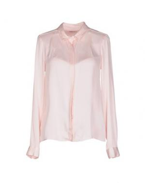 Pубашка PONY. Цвет: розовый