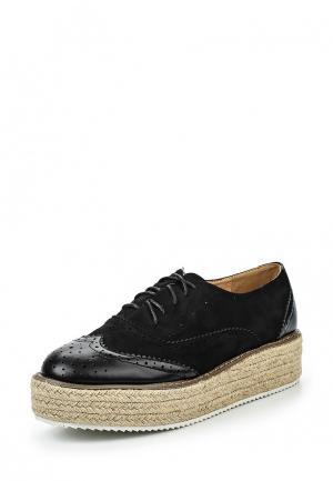 Ботинки My&My. Цвет: черный