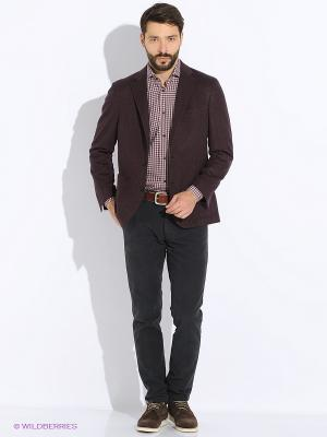 Пиджак Maurizio Baldassari. Цвет: бордовый