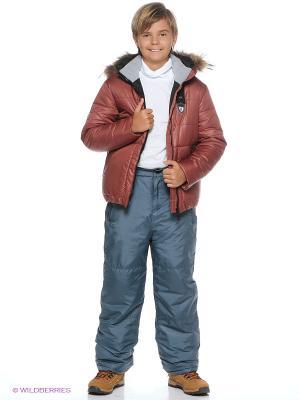 Куртка Моисей Батик. Цвет: коричневый