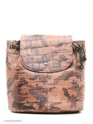 Рюкзак Labbra. Цвет: коричневый