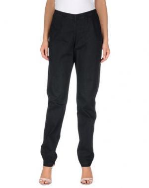 Повседневные брюки MARIA CALDERARA. Цвет: черный