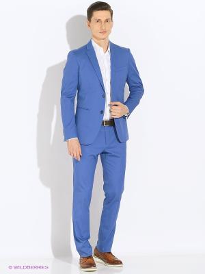 Пиджак Sisley. Цвет: голубой