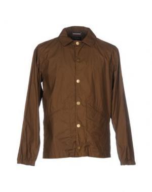 Куртка GLOVERALL. Цвет: хаки