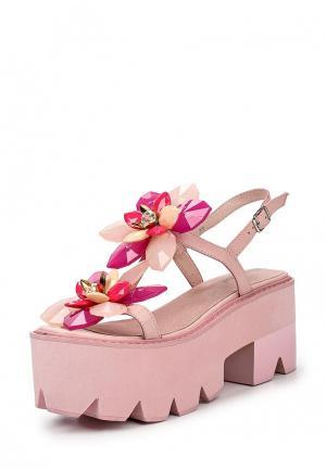 Босоножки Jeffrey Campbell. Цвет: розовый