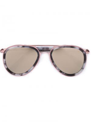 Солнцезащитные очки Cutler & Gross. Цвет: серый