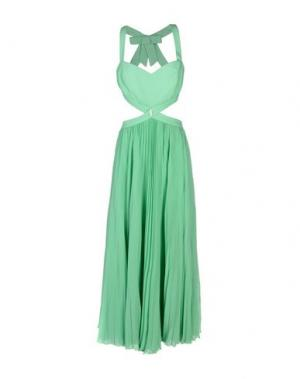 Длинное платье SHI 4. Цвет: светло-зеленый