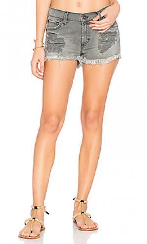 Рваные шорты salty James Jeans. Цвет: none