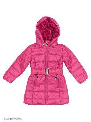 Пальто на синтепоне Modis. Цвет: розовый, молочный