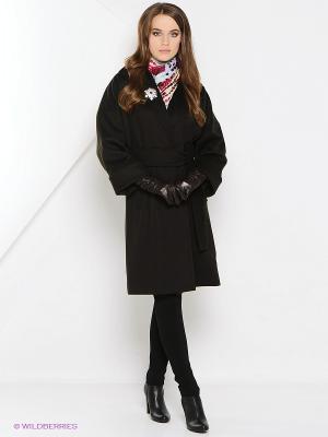 Пальто Estrade. Цвет: темно-коричневый