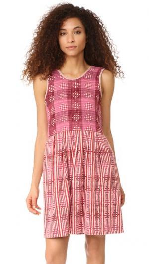 Мини-платье Joni ace&jig. Цвет: дамасский