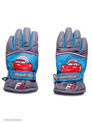 Перчатки Чудо-Кроха. Цвет: темно-серый, синий