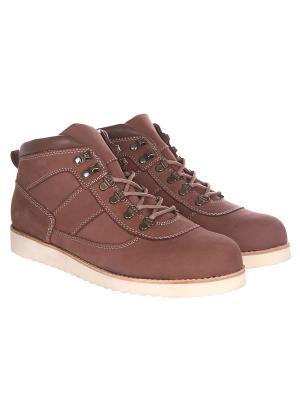 Ботинки зимние Rheinberger Tim Urban Brown: мужские, 12246, 40. Цвет: коричневый