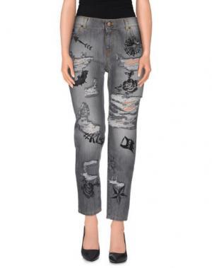 Джинсовые брюки ODI ET AMO. Цвет: серый