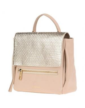 Рюкзаки и сумки на пояс VIA REPUBBLICA. Цвет: платиновый