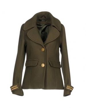 Пальто MASON'S. Цвет: зеленый-милитари