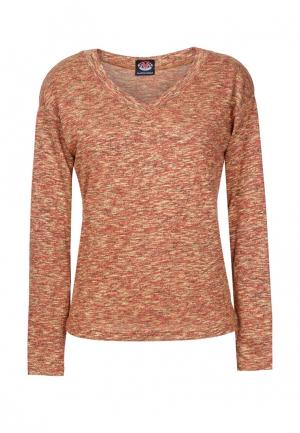 Пуловер Mayamoda. Цвет: оранжевый
