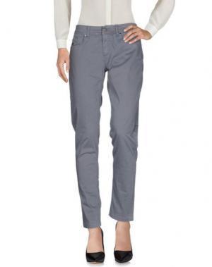 Повседневные брюки REVER'S. Цвет: серый