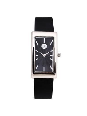 Часы ювелирные коллекция Q-City QWILL. Цвет: черный