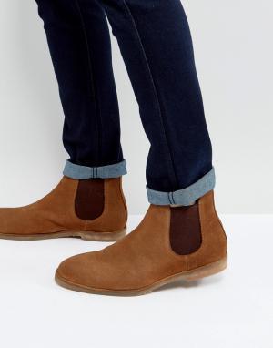 Dead Vintage Светло-коричневые ботинки челси. Цвет: рыжий