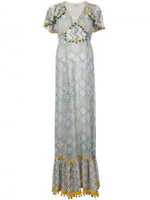 Платье Lalita Talitha. Цвет: многоцветный