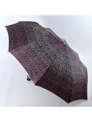 Зонт Zest. Цвет: бордовый, темно-коричневый