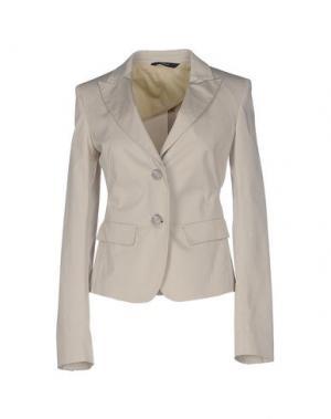 Пиджак LES COPAINS. Цвет: светло-серый