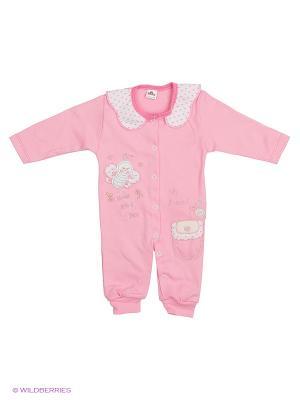Комбинезон Babycollection. Цвет: розовый