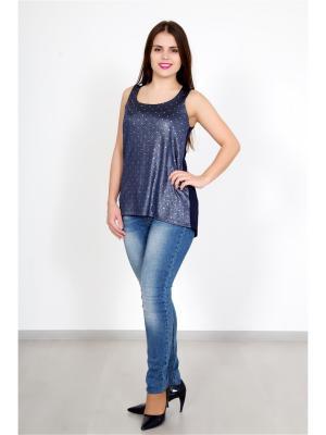 Топ Lika Dress. Цвет: темно-синий
