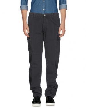 Повседневные брюки AVIO. Цвет: стальной серый