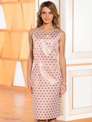 Платье Bandolera. Цвет: бледно-розовый