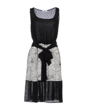 Платье длиной 3/4 AXARA PARIS. Цвет: черный