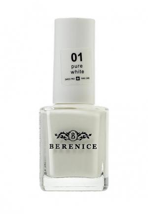 Лак Berenice. Цвет: белый