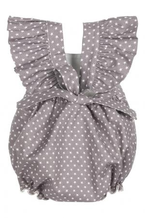 Комплект Маленькая звездочка SASHA Petit Gâteau. Цвет: серый