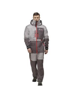 Куртка Коаст Prime Nova tour. Цвет: серый,красный