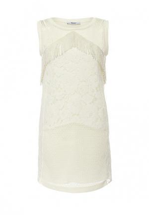 Платье Liu Jo Jeans. Цвет: белый