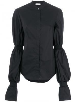 Блузка с объемными длинными рукавами Dondup. Цвет: чёрный