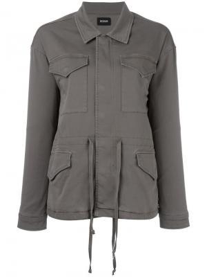 Куртка Multi Pocket Sienna Hudson. Цвет: зелёный