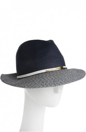 Шляпа Eugenia Kim. Цвет: темно-синий