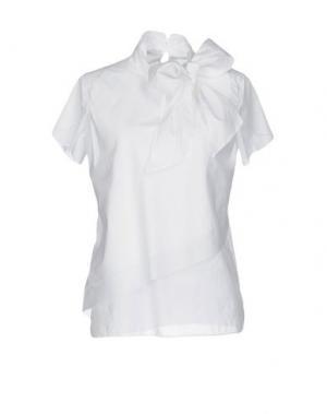 Блузка INGRAM. Цвет: белый