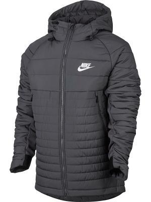 Куртка M NSW SYN FILL AV15 JKT HD Nike. Цвет: темно-серый