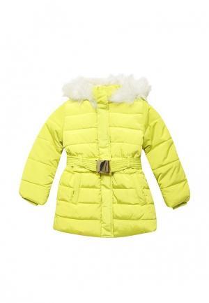 Куртка утепленная Incity. Цвет: желтый