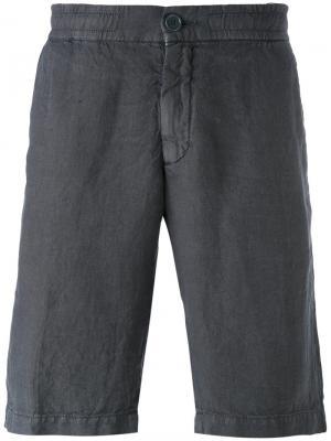 Классические шорты Z Zegna. Цвет: серый