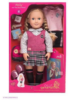 Кукла Халли OG Dolls. Цвет: розовый, белый, бежевый