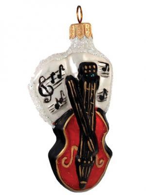 Ёлочное украшение Скрипка h-10см Карнавал-Премьер. Цвет: темно-красный, черный, антрацитовый