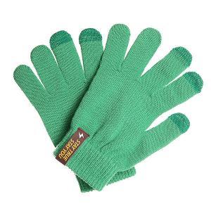 Перчатки  Touch Gloves Light Green TrueSpin. Цвет: зеленый
